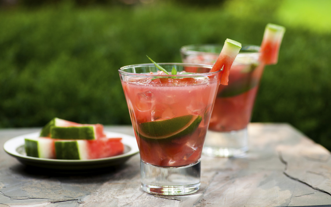 Watermelon Tequila Lime Cocktail