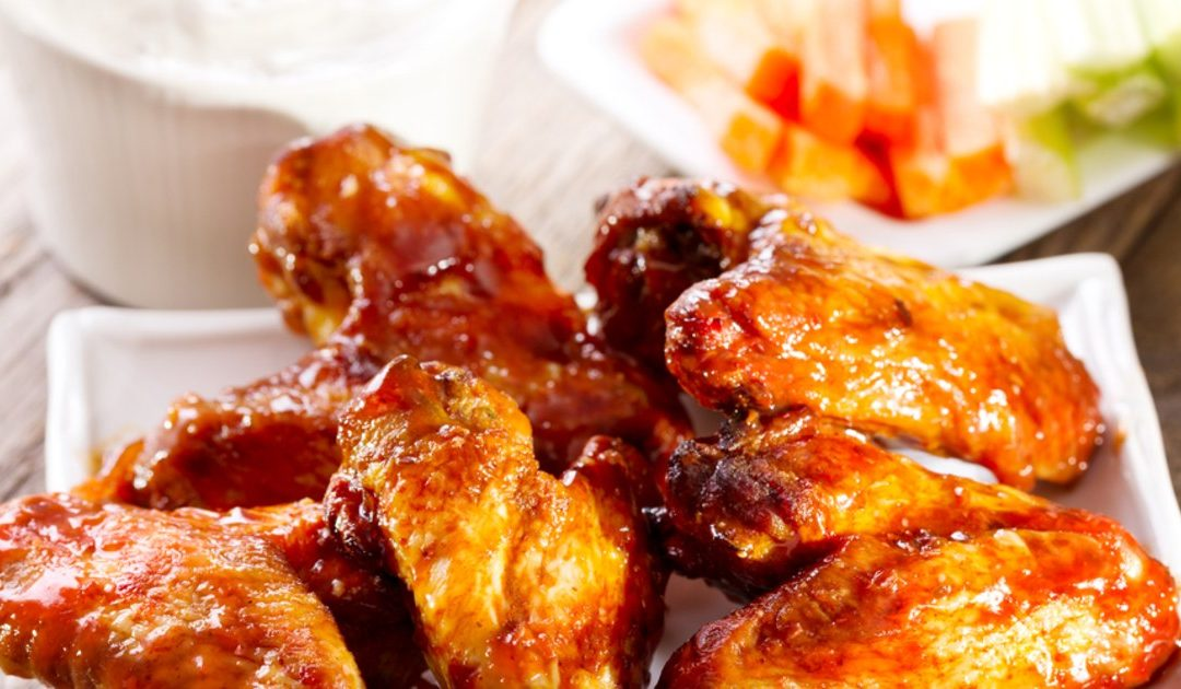 Healthier Buffalo Chicken Wings