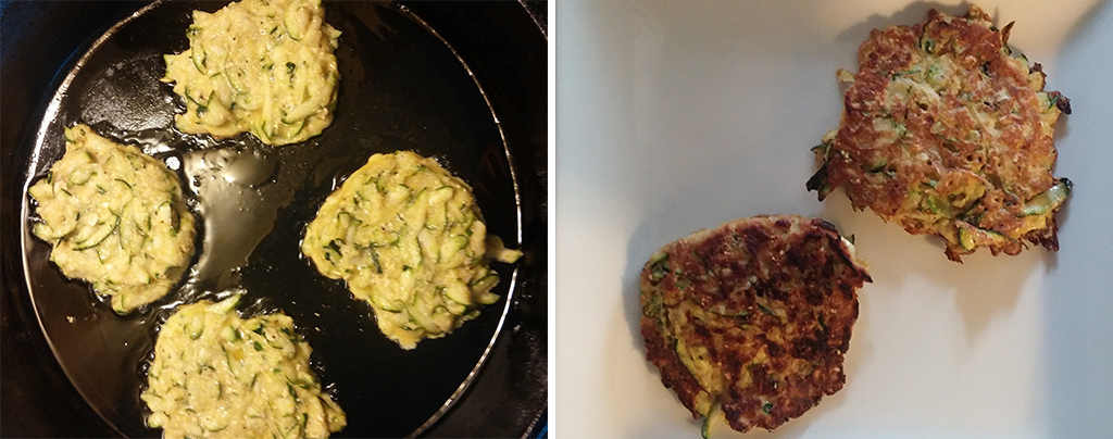 Zucchini Fritter Pancakes