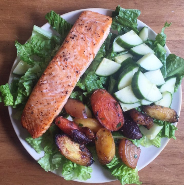10-Minute Broiled Salmon Recipe