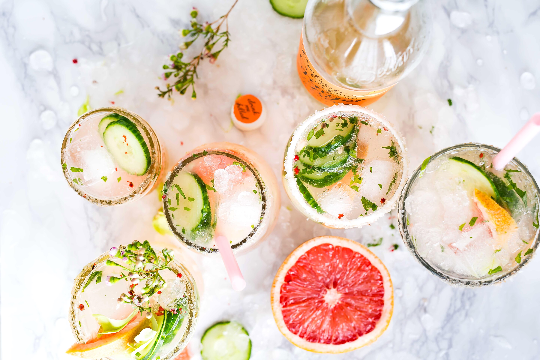 Healthy(ish) Cocktails & Mocktails