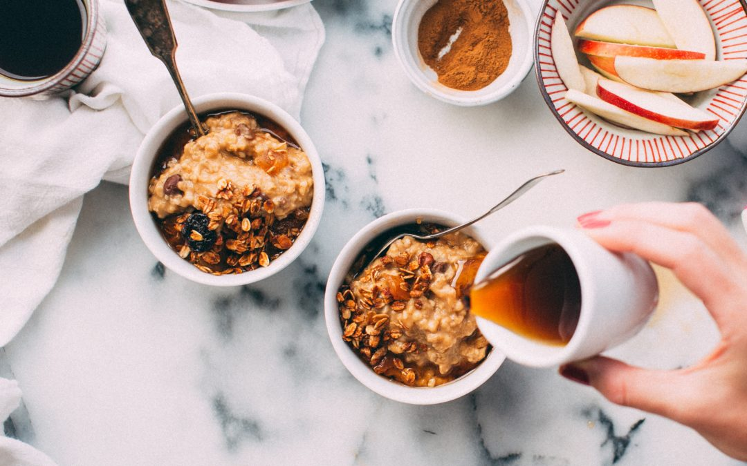 Recipe: Pumpkin Pie Spiced Oatmeal