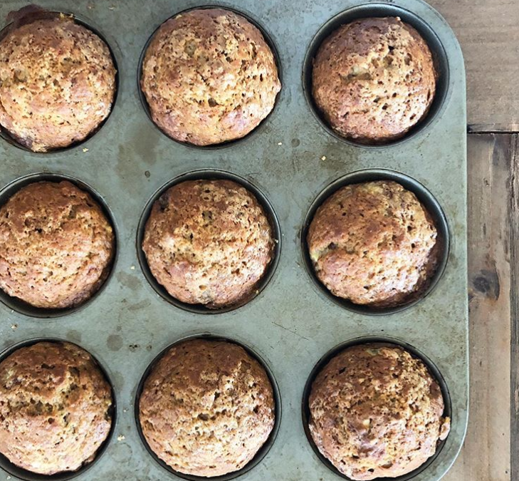 Best Healthy Banana Muffins