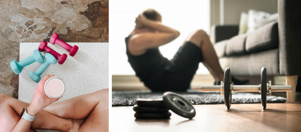What To Eat Before & After Home Workouts